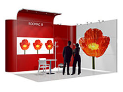 Graphic: Trade fair stand